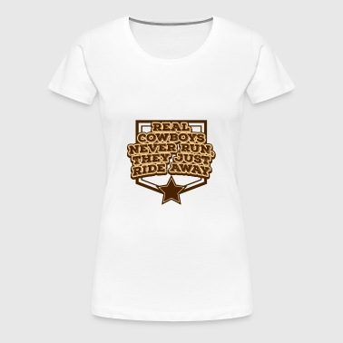 Cowboy, Western, Country Music, Horses, Line Dance - Women's Premium T-Shirt