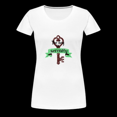 Serenity as a key to success Shirt - Women's Premium T-Shirt