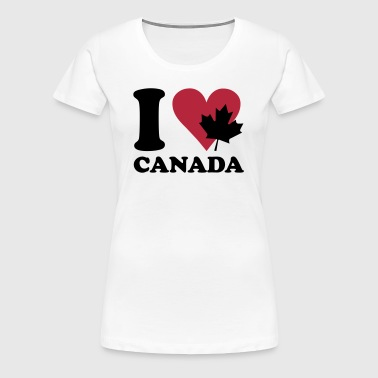 I love canada - Women's Premium T-Shirt