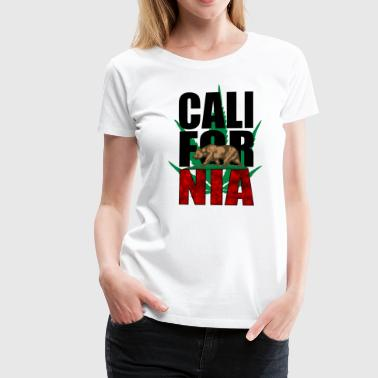 Californien - Dame premium T-shirt