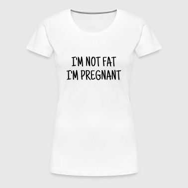 Fat - Chubby - Sport - Diet - Humor - Plump - Joke - Women's Premium T-Shirt