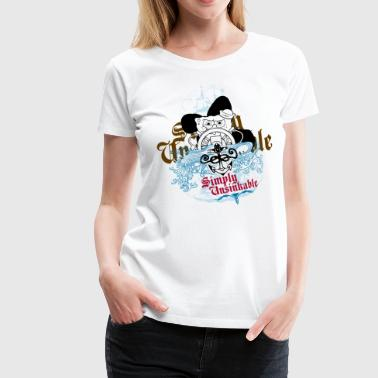 Mens' Shirt SpongeBob 'Simply Unsinkable' - Women's Premium T-Shirt