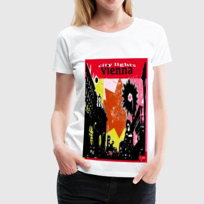 City Lights Wien - Premium-T-shirt dam