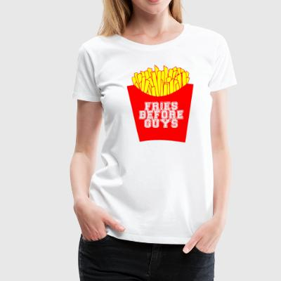 fries before guys - Frauen Premium T-Shirt