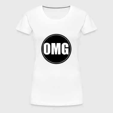 Vape T-shirt Icon 0MG - Dame premium T-shirt