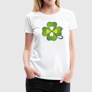 Clover - Symbols of Happiness - Frauen Premium T-Shirt