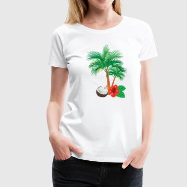 Caribbean flair - Women's Premium T-Shirt