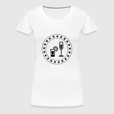 Barman / Cocktail - Women's Premium T-Shirt