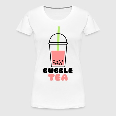 Bubble Tea - Frauen Premium T-Shirt