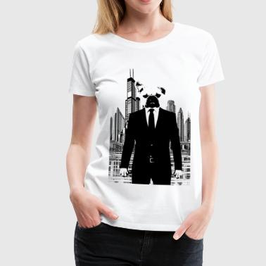 Bussines Bully - bouledogue français - T-shirt Premium Femme