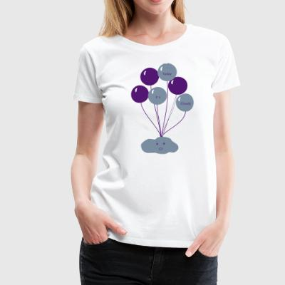 Sweet Cloud - Frauen Premium T-Shirt