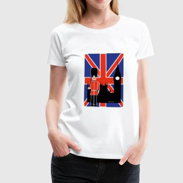 GUARD FLYING JACK ET BIG BEN - T-shirt Premium Femme