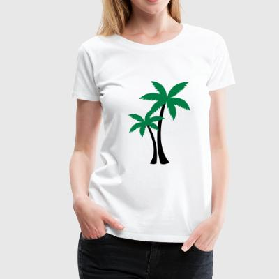 2541614 133469141 Palm trees - Women's Premium T-Shirt