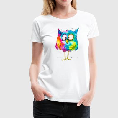 Otto the owl - Frauen Premium T-Shirt