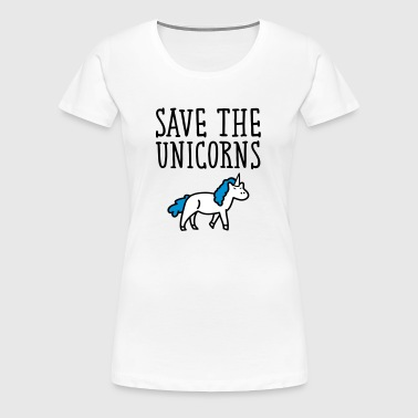 Save The Unicorns - Women's Premium T-Shirt