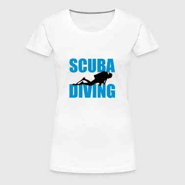 Scuba Diving - Frauen Premium T-Shirt