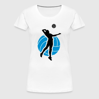 Volleyball Design - Women's Premium T-Shirt
