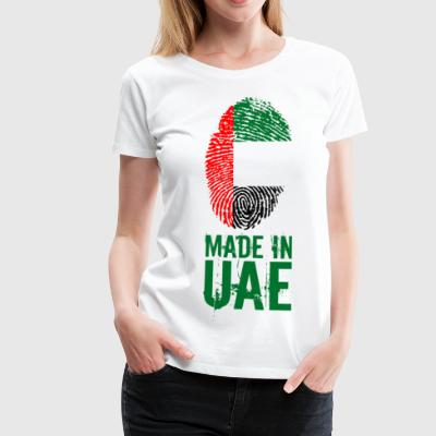 Made In UAE / Emirats Arabes Unis - T-shirt Premium Femme