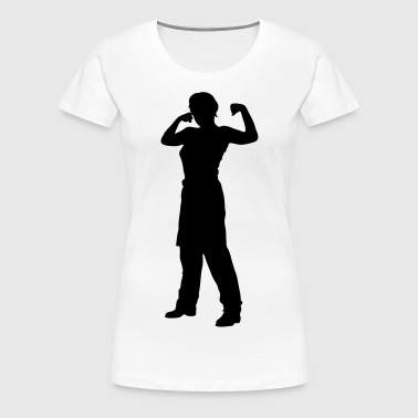 fitness people - Dame premium T-shirt
