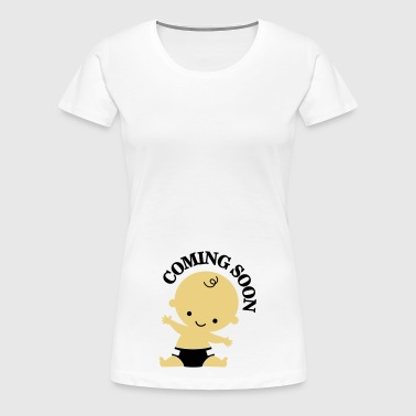 Baby - Coming Soon - Women's Premium T-Shirt