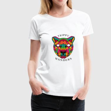 Trippy Wonders - Lion - Women's Premium T-Shirt