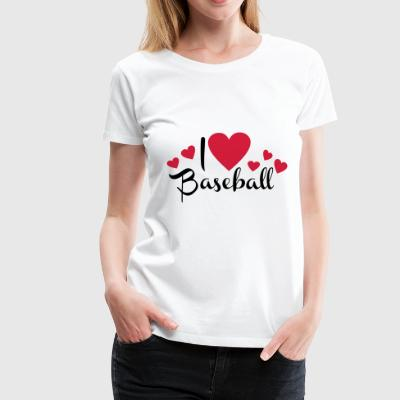 2541614 113587737 baseball - Women's Premium T-Shirt