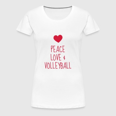 Volleyball - Volley Ball - Volley-Ball - Sport - T-shirt Premium Femme
