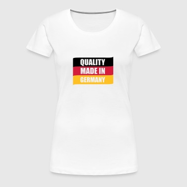Quality made in Germany © - Dame premium T-shirt