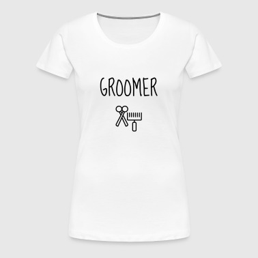 Grooming Pet Groomer Hundefriseur Toilettage - Women's Premium T-Shirt
