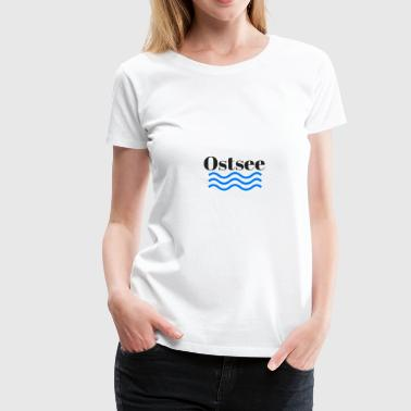 Ostsee transparent - Frauen Premium T-Shirt