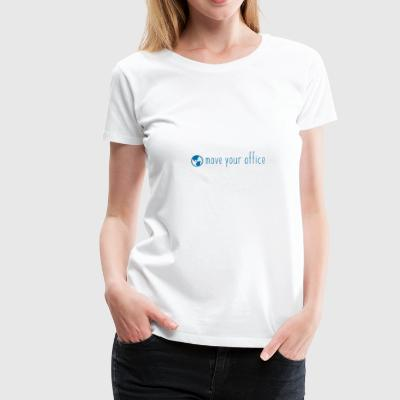 Das offizielle move your office Logo-Shirt - Frauen Premium T-Shirt