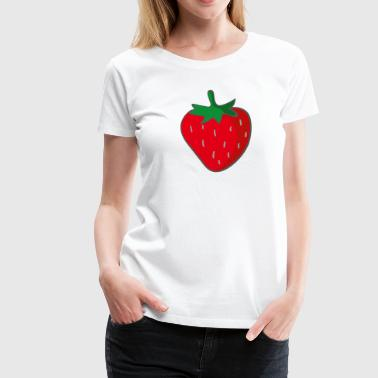 strawberry - Women's Premium T-Shirt
