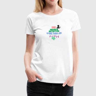 Private detective - Women's Premium T-Shirt