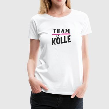 TeamKoelle black - Frauen Premium T-Shirt