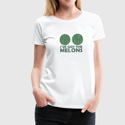 Fruit / Fruit: Melon - Watermelon - Women's Premium T-Shirt