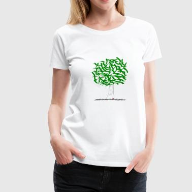tree - Women's Premium T-Shirt