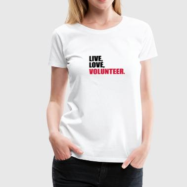 volunteer - Women's Premium T-Shirt