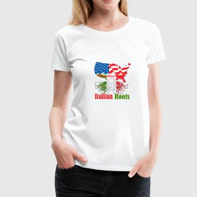 italian roots - Frauen Premium T-Shirt