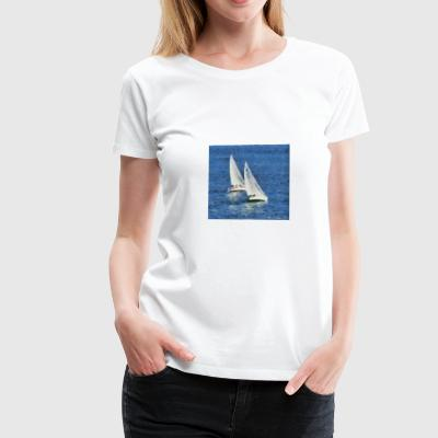 White sails. - Women's Premium T-Shirt