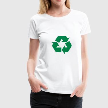 Earth Day Recycle - Women's Premium T-Shirt