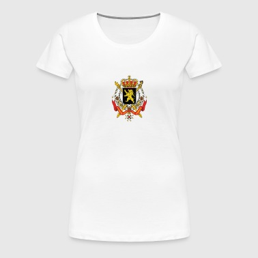 Armoiries nationales de la Belgique - T-shirt Premium Femme