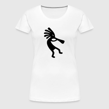 Kokopelli - Women's Premium T-Shirt