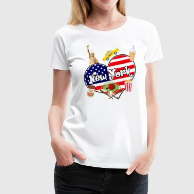 I love New York 2 - T-shirt Premium Femme
