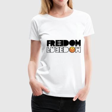 LIBRE CATALOGNE (RED EDITION) - T-shirt Premium Femme