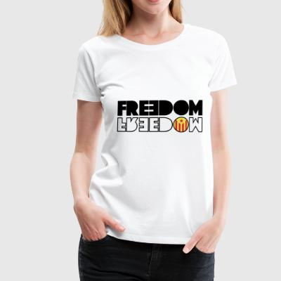 FREEDOM Catalonia (RED EDITION) - Premium T-skjorte for kvinner
