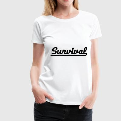 2541614 128647891 survival - Women's Premium T-Shirt