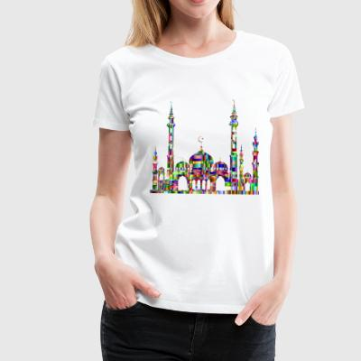 mosque - Women's Premium T-Shirt