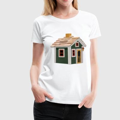 hut - Women's Premium T-Shirt