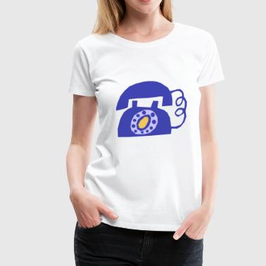 phone - Women's Premium T-Shirt