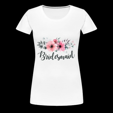 Bridesmaid. Maid of Honour.Hen Night Gifts.Favours - Women's Premium T-Shirt